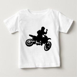 Camiseta Para Bebê Chicote da bicicleta do motocross