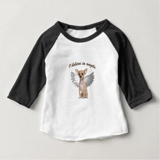 Camiseta Para Bebê Chihuahua do anjo