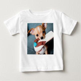 Camiseta Para Bebê chihuahua flip flops