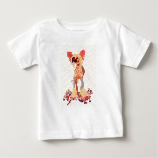 Camiseta Para Bebê Chinese Crested