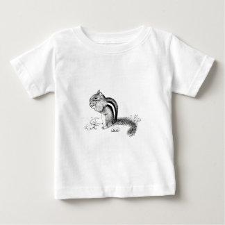 Camiseta Para Bebê Chipmunk