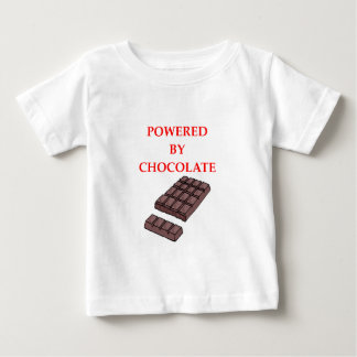 CAMISETA PARA BEBÊ CHOCOLATE