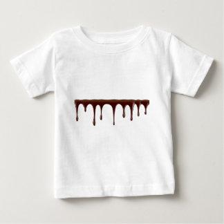 Camiseta Para Bebê Chocolate derretido