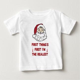 Camiseta Para Bebê Christma Realest