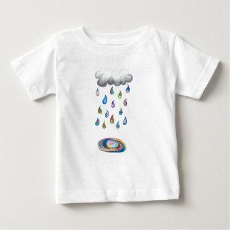 Camiseta Para Bebê Chuva irrisório