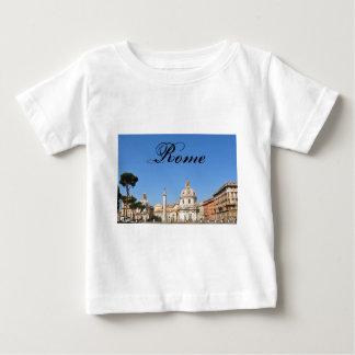 Camiseta Para Bebê Cidade antiga de Roma, Italia