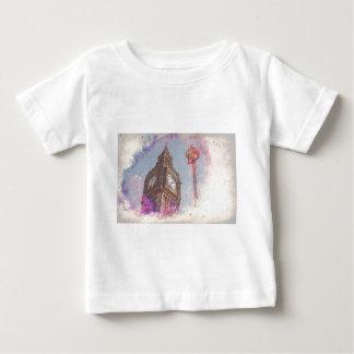 Camiseta Para Bebê Cidade no #purple da nebulosa