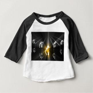 Camiseta Para Bebê Ciência do desenvolvimento e serviço pessoais do