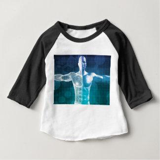 Camiseta Para Bebê Ciência médica