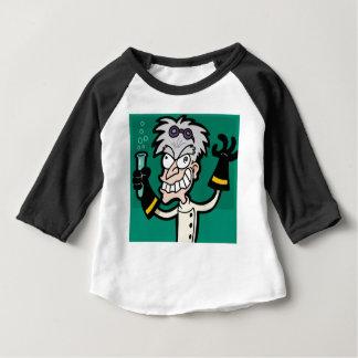 Camiseta Para Bebê cientista excited