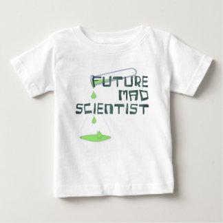 Camiseta Para Bebê Cientista louco futuro