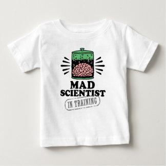 Camiseta Para Bebê Cientista louco no treinamento