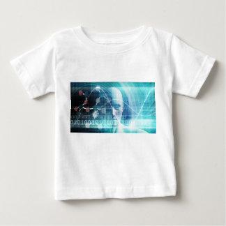 Camiseta Para Bebê Cientistas da educação e tornar-se da ciência
