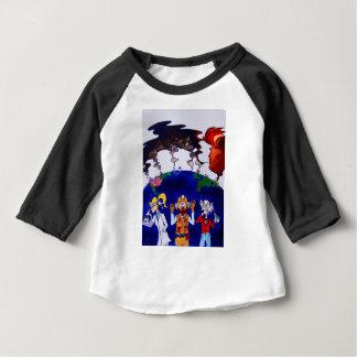 Camiseta Para Bebê Cientistas Muzzled_I