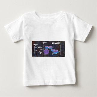 Camiseta Para Bebê Cilindros
