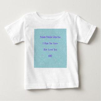Camiseta Para Bebê Cintilação da cintilação poucos presentes do bebê