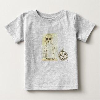 Camiseta Para Bebê cinza do t-shirt do bebê
