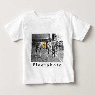 Camiseta Para Bebê Cinza por você
