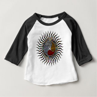 Camiseta Para Bebê Círculo da vida