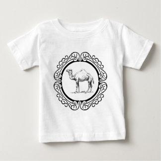 Camiseta Para Bebê círculo do camelo