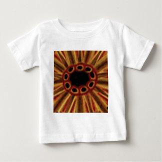 Camiseta Para Bebê círculos center do furo