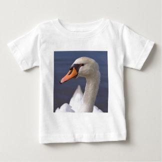 Camiseta Para Bebê Cisne muda do retrato