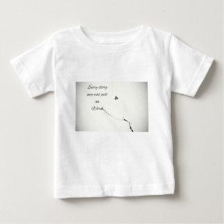 Camiseta Para Bebê Citações da palavra