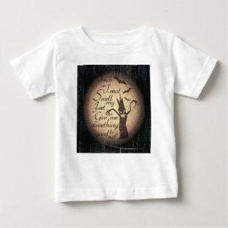 Camiseta Para Bebê citações do Dia das Bruxas