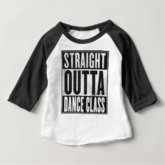 Camiseta Para Bebê Classe de dança reta de Outta