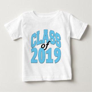 Camiseta Para Bebê Classe do azul 2019
