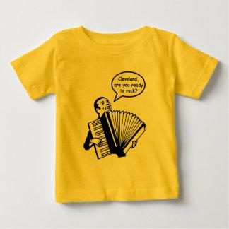 Camiseta Para Bebê Cleveland, está você pronto para balançar?