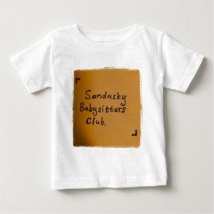 Camiseta Para Bebê Clube das baby-sitter de Sandusky 61d9a132ae15c