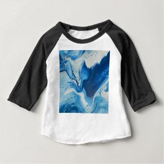 Camiseta Para Bebê Cobalto