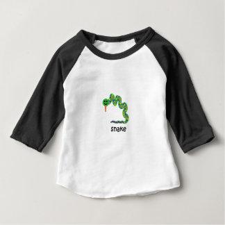 Camiseta Para Bebê Cobra