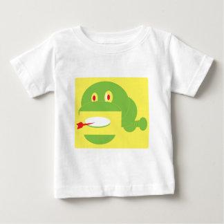 Camiseta Para Bebê Cobra feito forma