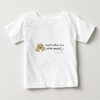 Camiseta Para Bebê cocker spaniel
