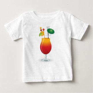 Camiseta Para Bebê Cocktail das caraíbas