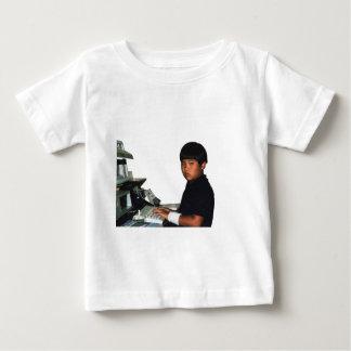 Camiseta Para Bebê Codificador incondicional com Wristband
