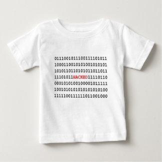 Camiseta Para Bebê Código cortado