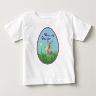 Camiseta Para Bebê Coelhinho da Páscoa