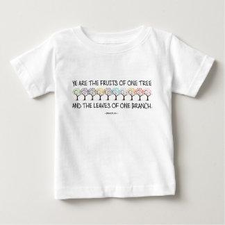 Camiseta Para Bebê Cofre forte comigo t-shirt do jérsei do bebê da