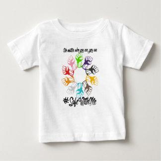 Camiseta Para Bebê Cofre forte comigo t-shirt do jérsei do bebê dos