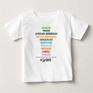 Camiseta Para Bebê Cofre forte comigo t-shirt transversal do jérsei