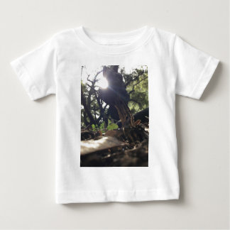 Camiseta Para Bebê Cogumelo Elfin da sela