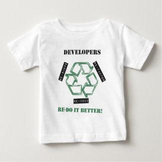 Camiseta Para Bebê Colaboradores Re-melhora (v1) x