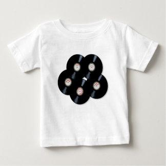 Camiseta Para Bebê Coleção do vinil