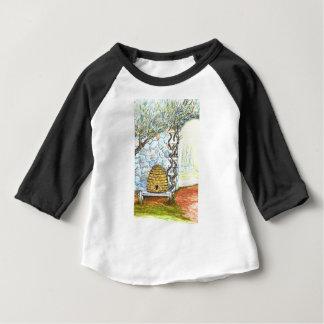 Camiseta Para Bebê colheita do rockwall