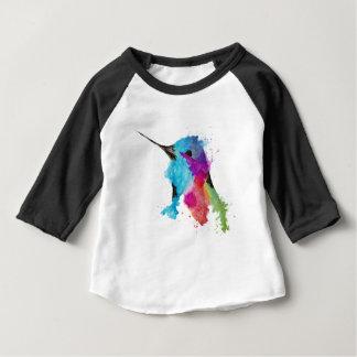 Camiseta Para Bebê colibri