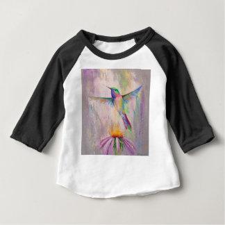 Camiseta Para Bebê Colibri do vôo