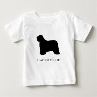 Camiseta Para Bebê Collie farpado